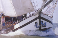 Excusion aboard a traditional sailing vessel